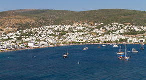 Bodrum Town from Mugla, Royalty Free Stock Photo