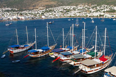 Bodrum Town from Mugla, Stock Images