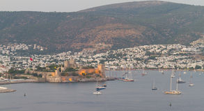 Bodrum Town from Mugla Stock Photography