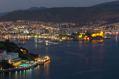 Bodrum Town from Mugla Royalty Free Stock Photos