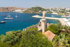 Bodrum Town from Mugla Stock Images