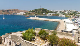 Bodrum Town from Mugla Royalty Free Stock Photo