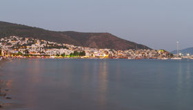 Bodrum Town from Mugla Stock Photo