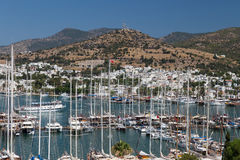 Bodrum Town Royalty Free Stock Photography