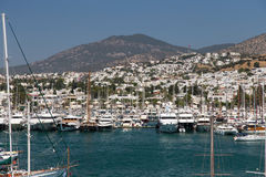 Bodrum Town Royalty Free Stock Images