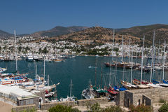 Bodrum Town. In Mugla City, Aegean Turkey Stock Photography