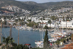 Bodrum Town in Mugla City Stock Images