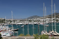 Bodrum Town in Mugla City, Turkey Royalty Free Stock Photography