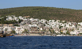 Bodrum Town in Turkey Stock Images