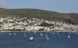 Bodrum Town in Turkey Royalty Free Stock Photography