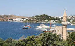 Bodrum Town in Turkey Stock Image
