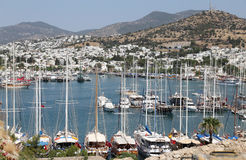 Bodrum Town in Turkey Royalty Free Stock Photo