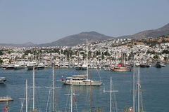 Bodrum Town in Turkey Royalty Free Stock Image