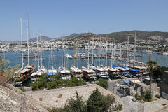Bodrum Town in Turkey Royalty Free Stock Photos