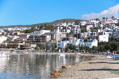 BODRUM TULKEY  December  2014 Yacht and sailing vessels in the o Stock Photography