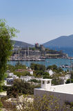 Bodrum, Turkey. The ancient Bodrum Castle, famous medieval structure in Bodrum, Turkey Stock Photos