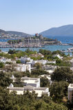 Bodrum, Turkey. The ancient Bodrum Castle, famous medieval structure in Bodrum, Turkey Royalty Free Stock Photography