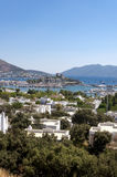 Bodrum, Turkey. The ancient Bodrum Castle, famous medieval structure in Bodrum, Turkey Royalty Free Stock Image
