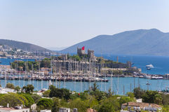 Bodrum, Turkey. The ancient Bodrum Castle, famous medieval structure in Bodrum, Turkey Stock Photography