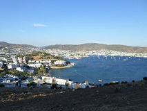 Bodrum panoramic view  Stock Photography