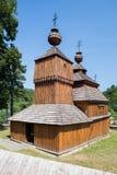 Bodruzal, Eslovaquia - iglesia ortodoxa vieja Fotos de archivo