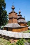 Bodruzal, Eslovaquia - iglesia ortodoxa vieja Foto de archivo libre de regalías