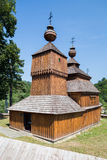 Bodruzal, Slovakia - Old orthodox church Stock Photos