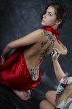 Body art stock images