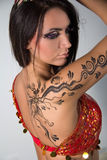 Body art Royalty Free Stock Photography