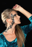 Body art portrait Royalty Free Stock Photography