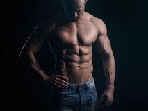Body of athlete Royalty Free Stock Photography