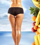 Body of an attractive woman Stock Photography