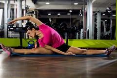 Body balance, streching Royalty Free Stock Photos