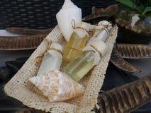 Body bath spa luxury beauty wellness accessories decoration Stock Image