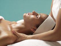 Body beauty and treatment. Royalty Free Stock Photo