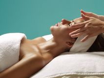 Body beauty and treatment. Royalty Free Stock Images