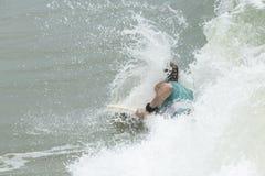 Body Boarder surf Stock Photo