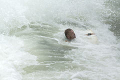 Body Boarder surf Stock Image