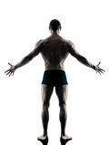 Body buiding man isolated Stock Image