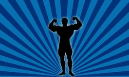 Body Builder ! Stock Image