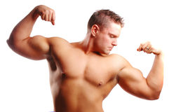 Body builder Royalty Free Stock Photos