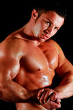 Body builder Royalty Free Stock Photography