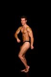 Body Builder, contest pose Stock Photos