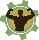 Body Builder Stock Image