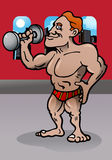 Body builder person Stock Image