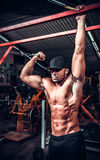 Body Builder Working Out Royalty Free Stock Image