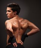 Body building Stock Photography