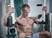Body building Fotos de Stock Royalty Free