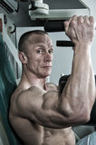 Body building Fotografie Stock