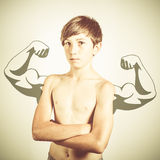 Body building Stock Image